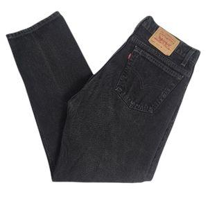 Levi's Vintage 505 Black Denim Jeans